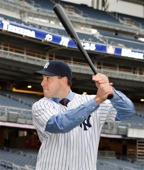 Yankees Teixeira Baseball