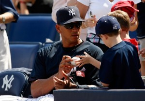 A-Rod being a jerk