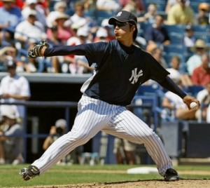 Igawa in Spring Training