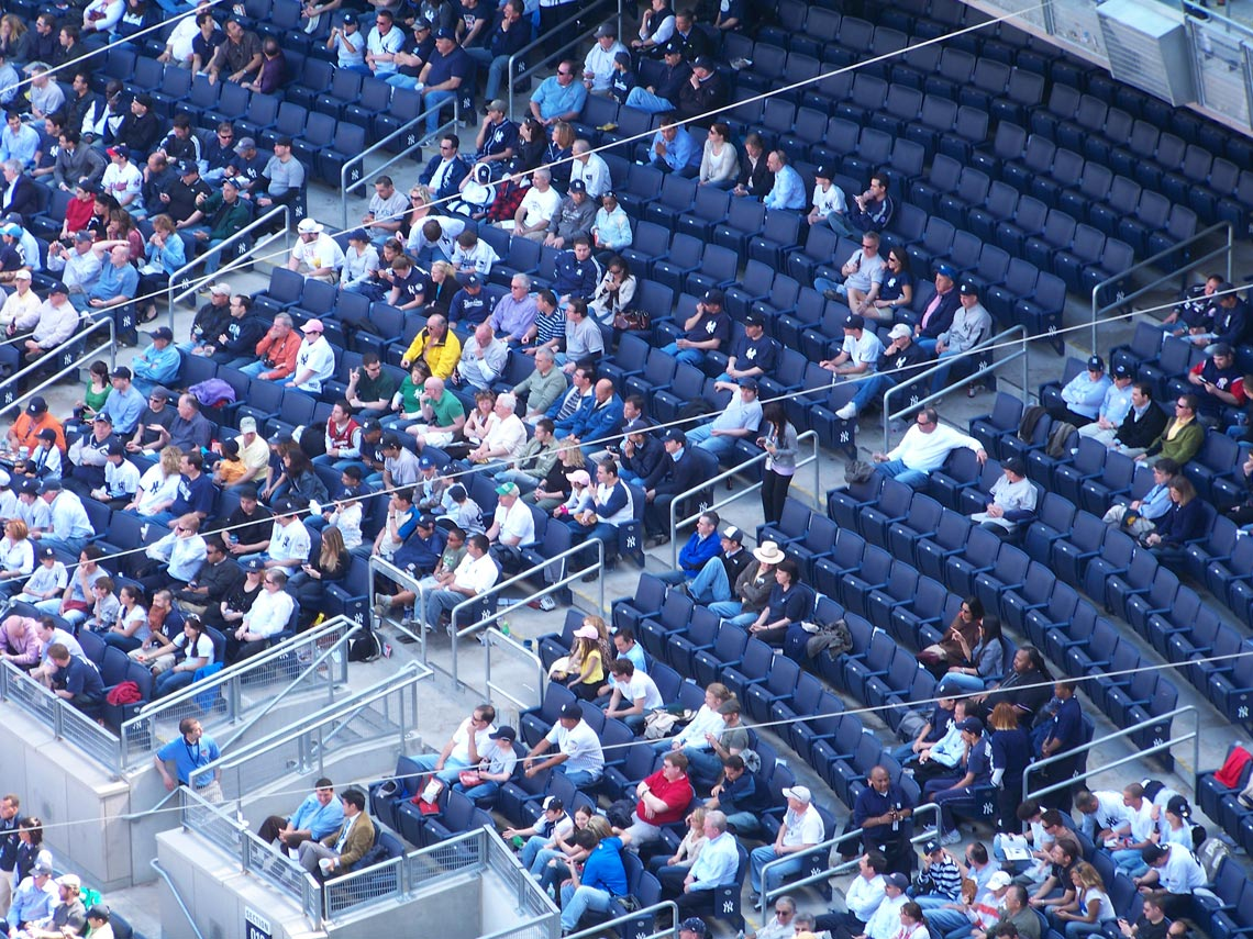 Image result for empty seats in nfl stadiums