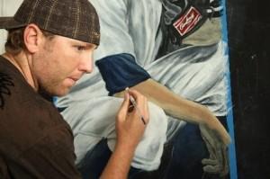 Brett Tomko painting