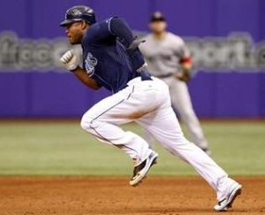 Carl Crawford stealing