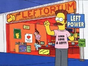 Stupid Flanders' stupid Leftorium