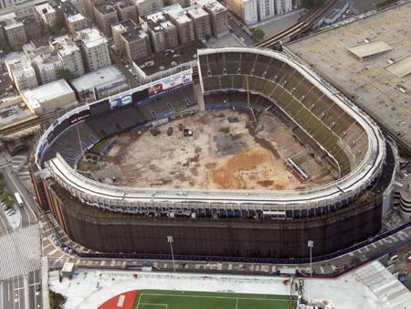 Old Stadium demolition