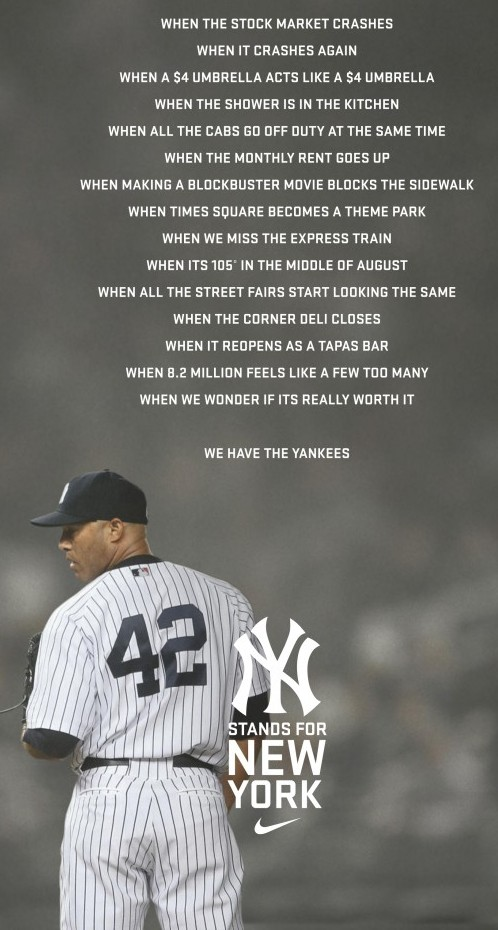 We Have The Yankees