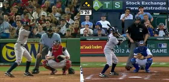 Granderson, April vs August