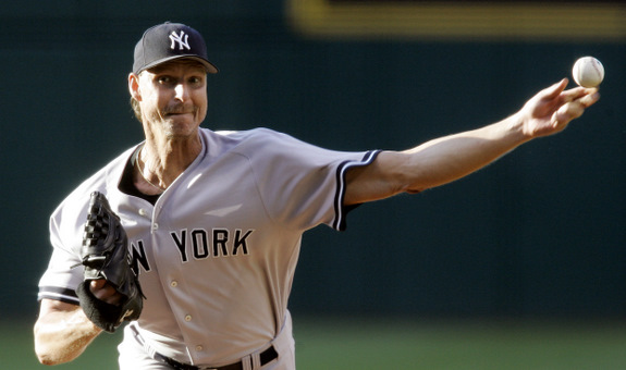 A Hall of Famer, but not because of his time in pinstripes. (AP Photo/Tony Dejak)