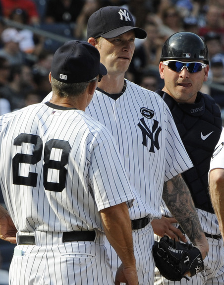 Joe Girardi, A. J. Burnett, Francisco Cervelli