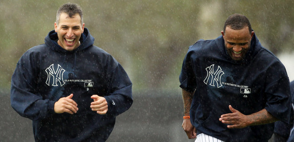 It rained. They ran anyway. (Star-Ledger)