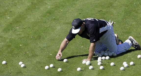 World's most expensive ballboy. (AP Photo/Matt Slocum)