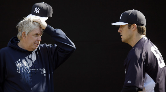 """Dammit Phil, couldn't even wait until the games started?"" (AP Photo/Matt Slocum)"