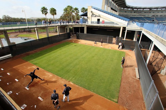 Michael Pineda threw off a full mound today. (John Munson/Star-Ledger)
