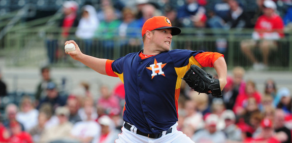Bud Norris (!) will throw out the first pitch of the season tonight. (Scott Cunningham/Getty)