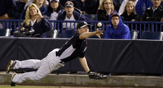 Dan Johnson will be spending a lot more time at first base the next few weeks. (AP Photo/Matt Slocum)