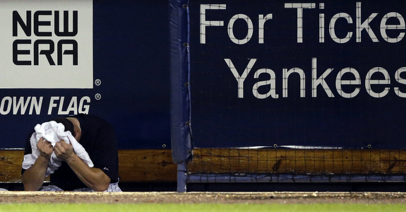 What a perfect photo. (AP Photo/Matt Slocum)