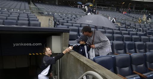 David Adams: Man of the people. (AP Photo/Seth Wenig)