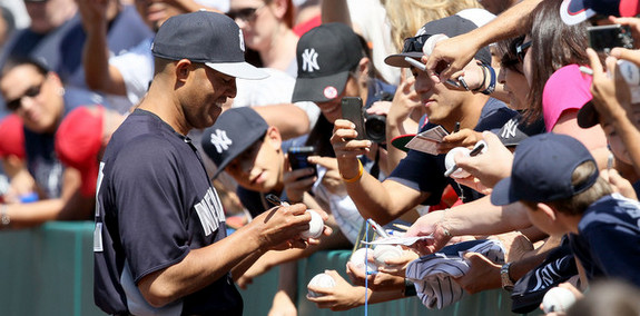 Novel idea: Hand Mariano Rivera a lead this afternoon. (Victor Decolongon/Getty)