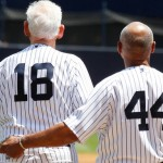 Don Larsen and Reggie Jackson. (Presswire)
