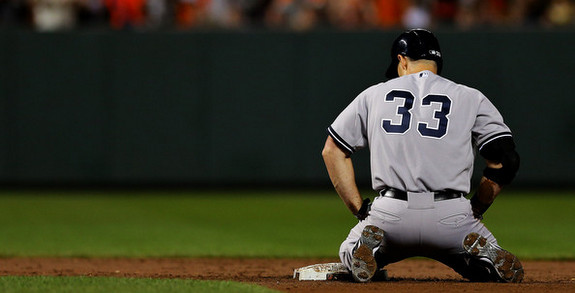 At least Pronk got a hit? (Patrick Smith/Getty)