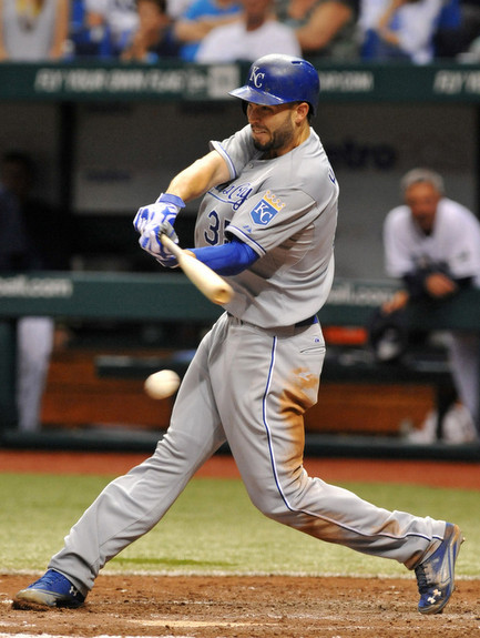 Hosmer. (Al Messerschmidt/Getty)