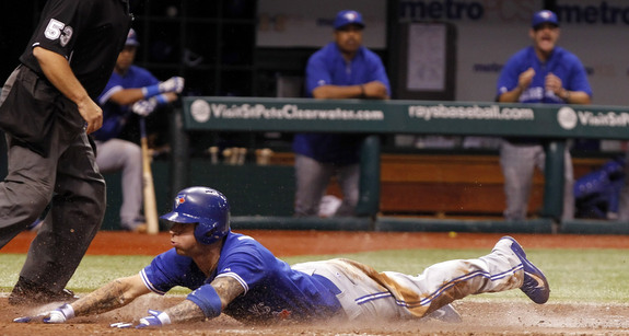 Why yes, the Blue Jays did fall flat on their face this year. (Presswire)