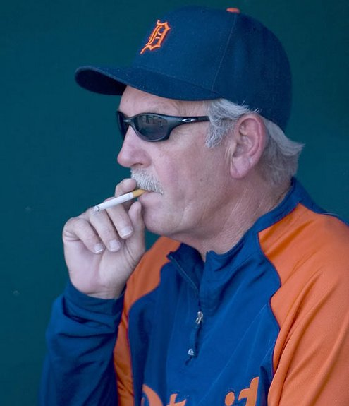 Leyland, a man's manager.