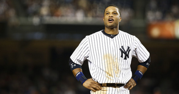 Technically not a Yankee right now. (Jeff Zelevansky/Getty)