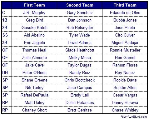 2013 MiLB Teams