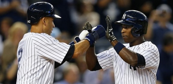 How many outs will the Yankees make on the bases today? (Rich Schultz/Getty)