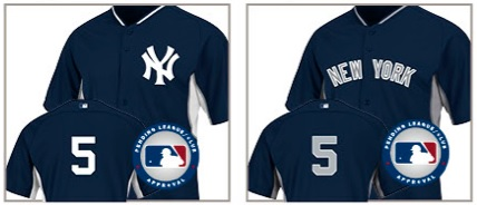 New Spring Training Jerseys