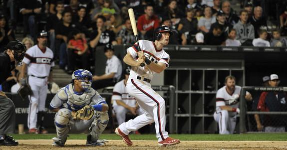 No batting gloves? Grinder. (David Banks/Getty)