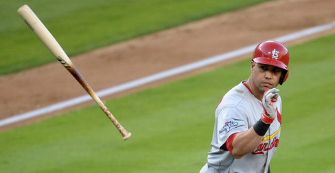There should be more casual bat tosses after walks in 2014. (Harry How/Getty)