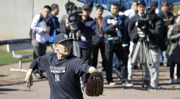 Tanaka's in the house. (Presswire)
