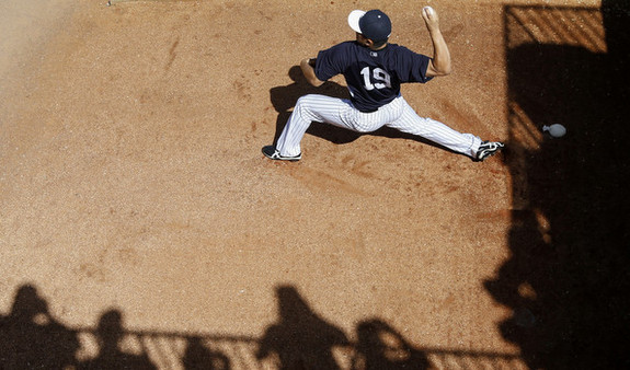 Number four in the rotation, number one in our hearts. (Mike Carlson/Getty)