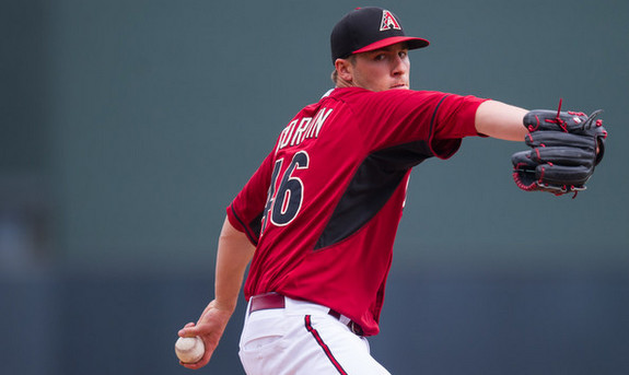 Patrick Corbin won't get a chance to build on his breakout season in 2014. (Rob Tringali/Getty)