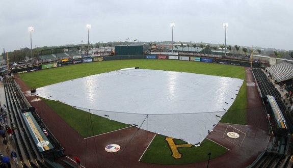 No baseball today. (Presswire)