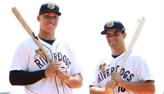 Aaron Judge and Michael O'Neill. (Moultrie News)