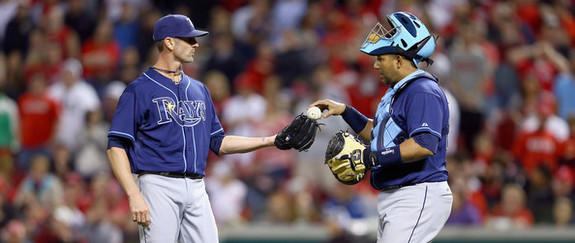 Balfour and Molina. (Andy Lyons/Getty)