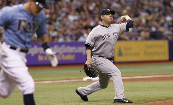 Nuno throws weird. (Brian Blanco/Getty)