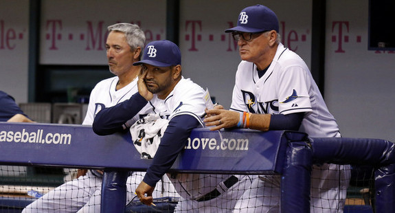 That kinda season in Tampa. (Mike Carlson/Getty)