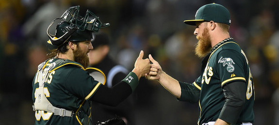 Norris, Doolittle, and their beards. (Thearon W. Henderson/Getty)