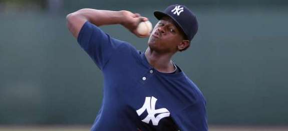 Luis Severino was signed as an international free agent in December 2011. (MLB.com)