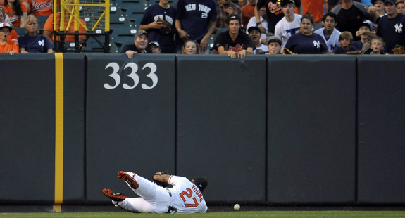 This is what it takes for the Yankees to score a run these days. (Presswire)