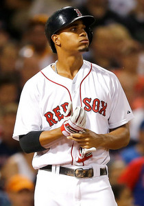 Bogaerts. (Jim Rogash/Getty)