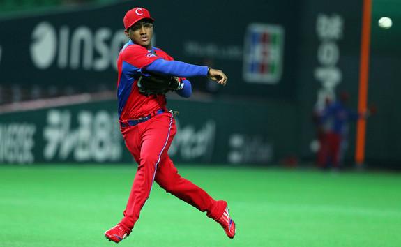 Ibanez at the 2013 World Baseball Classic. (Koji Watanabe/Getty)