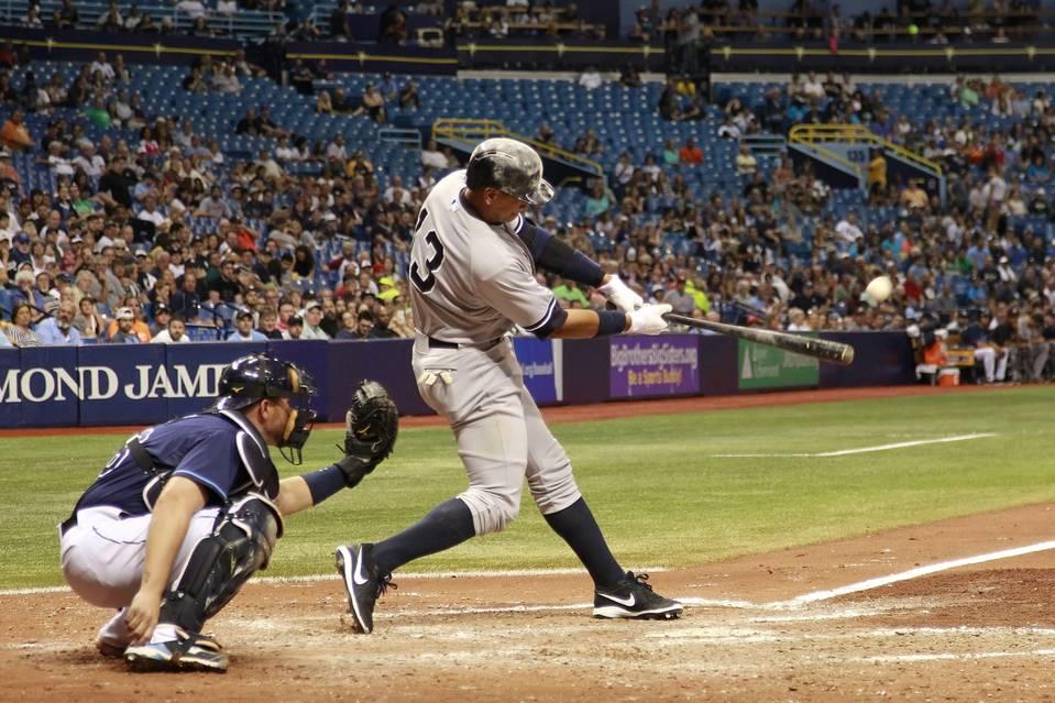 Goodbye, baseball. (Photo credit: Kim Klement/Reuters)