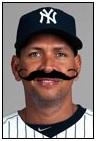 A-Rod mustache
