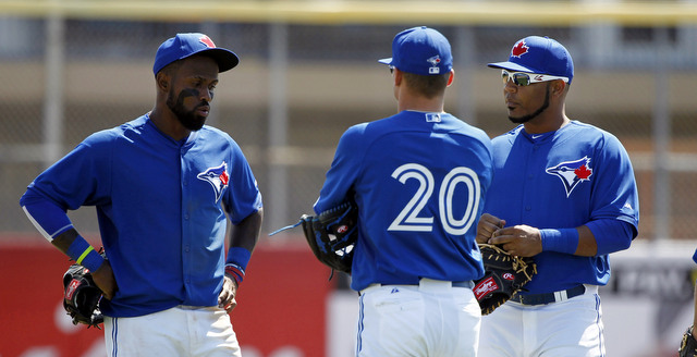 Reyes, Donaldson, and Encarnacion. And none of 'em is Toronto's best hitter. (Presswire)