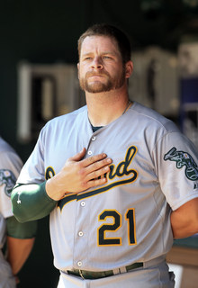 I believe in Stephen Vogt. (Presswire)