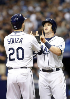 Souza and Guyer. (Brian Blanco/Getty)